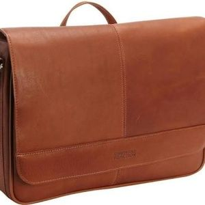 NEW! KENNETH COLE FLAPOVER MESSENGER BAG